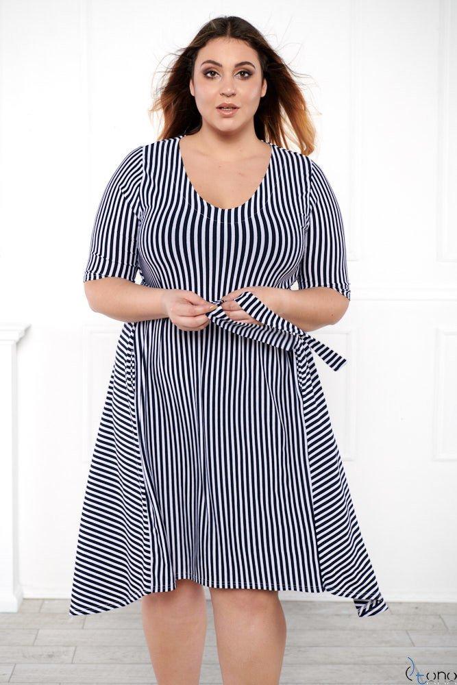 9e5ad59636 Sukienka SORTEA Plus Size Wzór 1 ✅ darmowy odbiór w punckie i zwrot ...