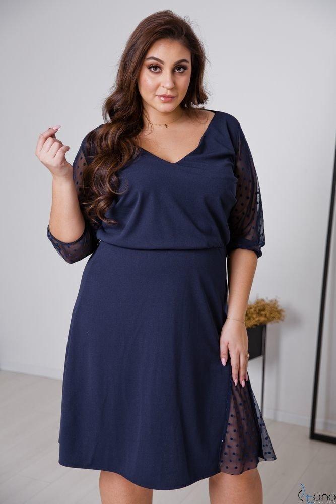 Modne sukienki duże rozmiary XXL Tono sklep plus size