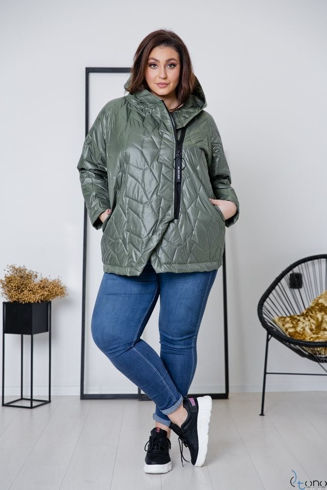 KHAKI KURTKA BRAVITY PLUS SIZE